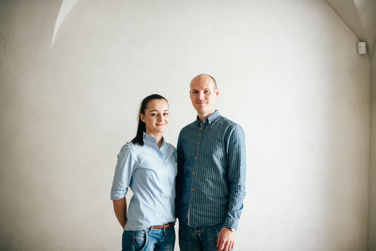 Janka Baluchova a Juraj Rohac