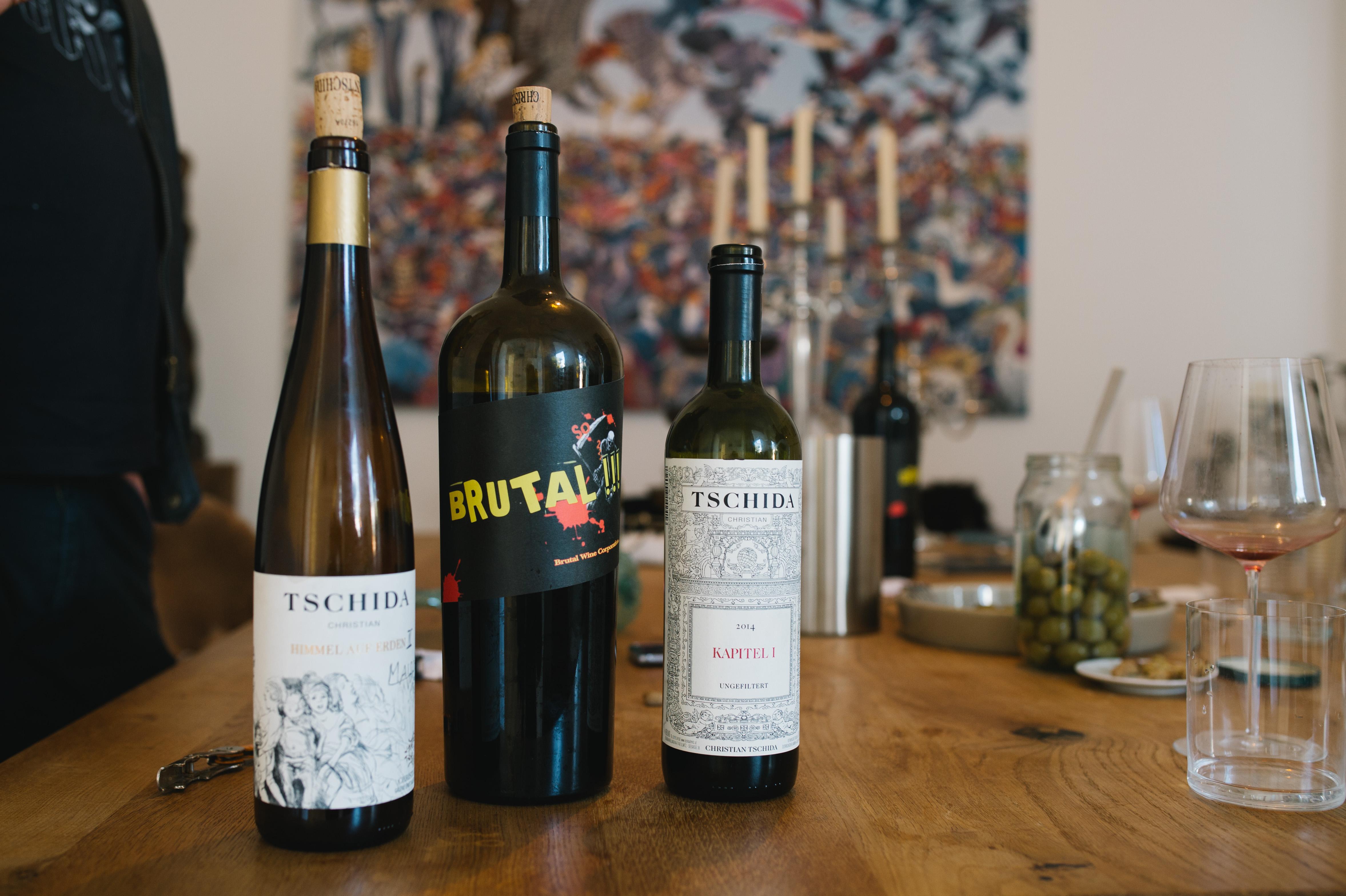Vína od Christiana Tschidu